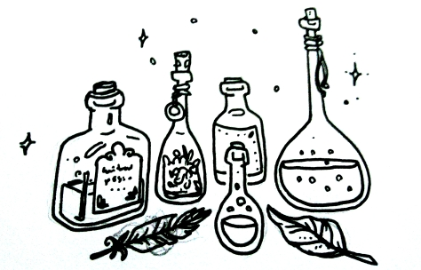 potion bottles 3